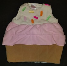 Old Navy Cupcake Costume Size 6-12 Months Fleece - $13.31