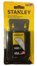Stanley 100 Pack Round Point Utility Blades 11-988 NEW - $12.73