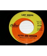 PETER AND GORDON  LADY GODIVA MORNING'S CALLING 45 RPM RECORD VINYL - $14.99