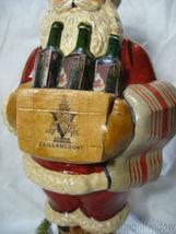 Vaillancourt Folk Art Wine Santa Signed by Judi Vaillancourt image 6