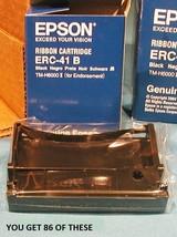 Epson ERC-41B Ribbon Cartridge TM-H6000 II ( for Endorsement } (86 ) RIBBONS - $39.95