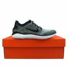 Nike Free RN Flyknit 2018 Womens Running Shoes Oreo NEW 942839-101 Multi... - $100.00