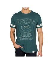 Originale Junk Food New York Getti Portellone da Calcio Sportivo Verde T Shirt - $36.74