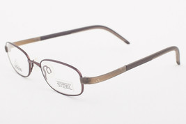 Adidas AD999 40 6054 LiteFit Mud Brown Eyeglasses AD999 406054 45mm - $68.11
