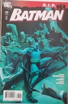Batman R.I.P. DC Comics #680 Oct 2008 Morrison Daniel Florea - $3.95