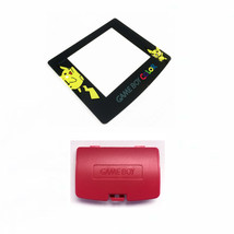 New BERRY Game Boy Color Battery Cover + Pokemon Pikachu Screen GBC - $7.22