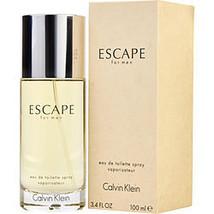 Escape By Calvin Klein Edt Spray 3.4 Oz - $92.00