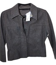 Express World Gray Wool Jacket Size 7/8 Brand New w/ Tags Style 1021 - $35.99