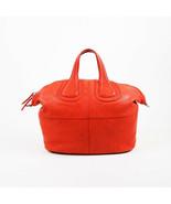 "Givenchy Red Leather ""Medium Nightingale"" Satchel Bag - $380.00"