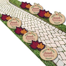 Friends Thanksgiving Feast - Pumpkin and Leaf Lawn Decorations - Outdoor... - $58.90