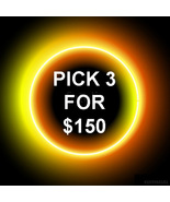 FRI-SUN PICK ANY 3 FOR $150 DOES NOT INCLUDE NO DEALS & MYSTICAL TREASURES - $0.00