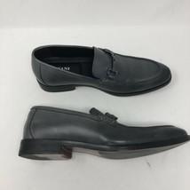 Alfani Men's  Size 7.5M Chandler Moc-Toe Loafers Black Leather Shoes - $24.12