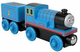 Thomas the Tank Engine wood rail series Edward [wood toy vehicle 2 years... - $63.93