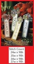 HOLIDAY BOOKMARKS   -  CROSS STITCH/VARIOUS  PATTERN ONLY  GU - HEA - $5.40