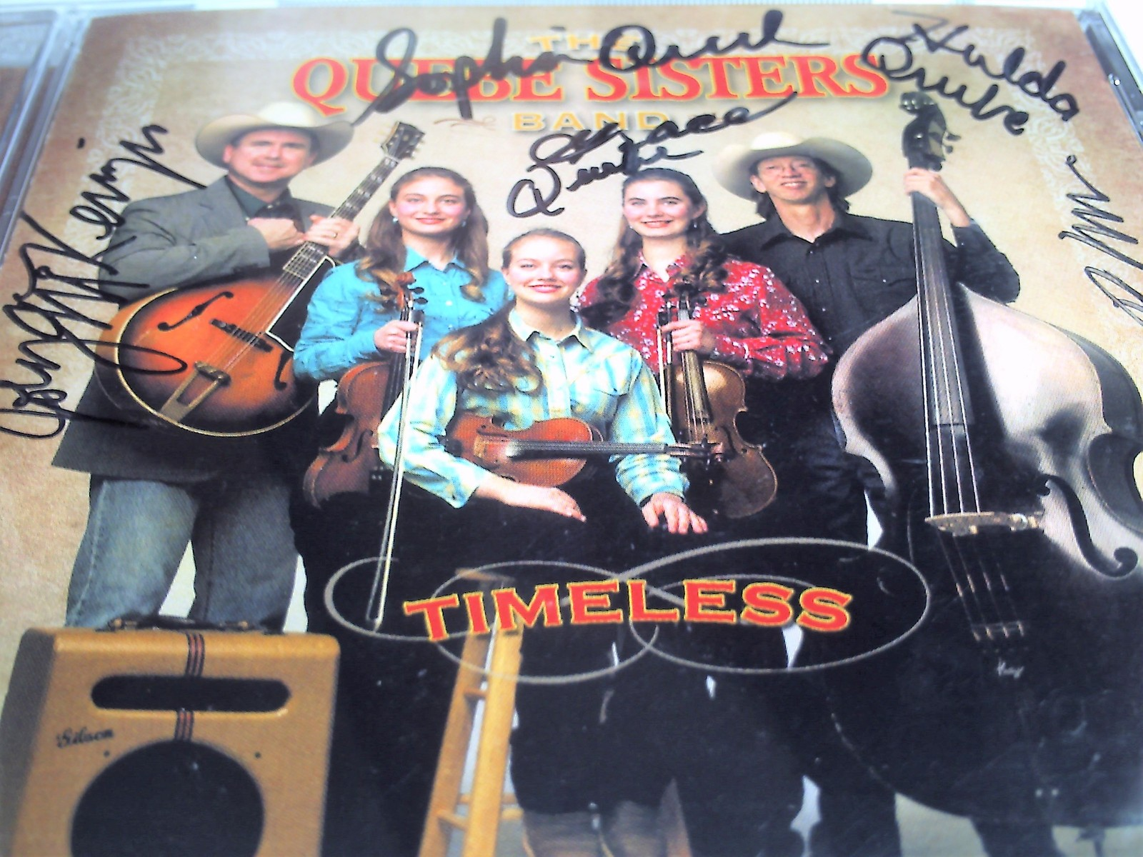 Quebe Sisters Band Timeless CD - signed