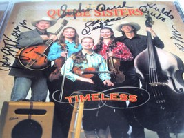 Quebe Sisters Band Timeless CD - signed image 2