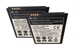 Samsung Galaxy S3 SHW-M440S 2X Replacement Batteries Slim Backup Spare B... - $15.32
