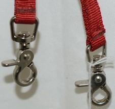 Unbranded 3854 Nylon Roper Rein Red Color Seven Feet Long image 2