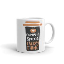 New Mug - Pumpkin Spice everything funny coffee Mug autumn quote - £8.52 GBP+