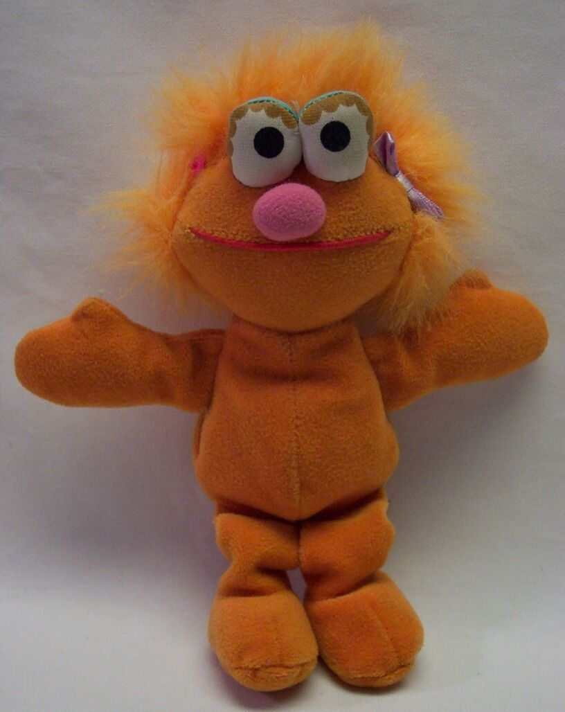 "Primary image for TYCO Sesame Street Bean Bag ZOE 8"" STUFFED ANIMAL Toy"