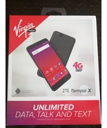 Virgin Mobile - ZTE Tempo X 4G LTE with 8GB Memory Prepaid Cell Phone - ... - $72.93