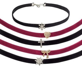 "Avon Velvet Choker Charm Necklace ""Star"" - $12.99"