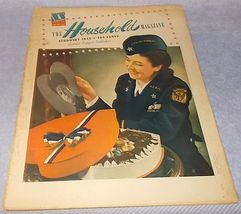 Vintage Ladies Household Magazine War Issue February 1943 Valentine Patr... - $7.95