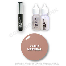 LIP INK Organic  Smearproof Special Edition Lip Kit - Ultra Natural - $49.90