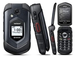 Kyocera DuraXV LTE E4610 4G LTE Flip Black (Verizon)Rugged Cell Phone(Page Plus) - $195.93