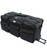 "Large 42"" Rolling Wheeled Duffel Bags Luggage Oversized Jumbo Heavy Duty... - $73.25"