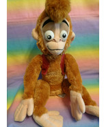 "Disney Store Exclusive Authentic Aladdin's Pet Monkey Abu Plush Animal 15"" - $22.72"