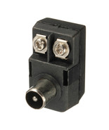 Newest FM 300 to 75ohm Antenna Matching Transformer Male Adapter W/ F Ty... - $2.57