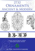 The Ornament Ancient + Modern Ornamentation Book 2732 Royalty Free Desig... - $8.96