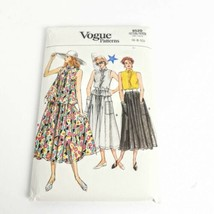 Vogue 9520 Spring Skirt Top Loose Size 6 8 10 Vintage Uncut Pattern - $19.99