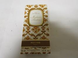 Madame Rochas UNUSED 1/2 oz15 ml Eau De Parfum Rochas OLD FORMULA 1970s Vintage - $50.00