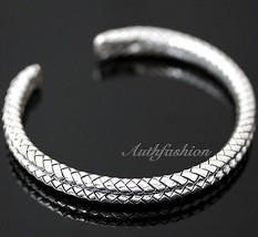 Mens Sterling Silver Bracelet Double Braided Handcrafted Hip Hop Beachwe... - $196.02