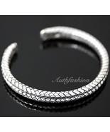 Mens Sterling Silver Bracelet Double Braided Handcrafted Hip Hop Beachwe... - $196.02