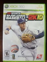 Major League Baseball 2K10 (Microsoft Xbox 360, 2010) Works Tested + Man... - $9.49