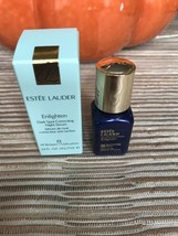 Estee Lauder ENLIGHTEN Dark Spot Correcting Night Serum 0.24 fl oz. New ... - $20.57