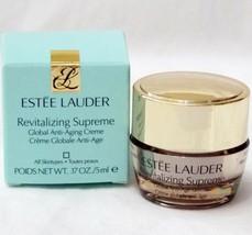 Estee Lauder Revitalizing Supreme Global Anti Aging Creme Cream .17 oz New - $11.85