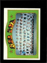 1972 Topps #328 Red Sox Team Vg+ Red Sox Nicely Centered *X01262 - $2.72