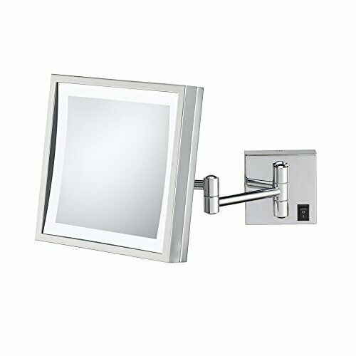 """Aptations 91273HW Kimball & Young 8"""" Wall Mount Single Sided LED Lighted Magnif - $122.50"""