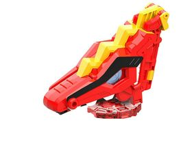 Miniforce Trans Head Pteryx Super Dinosaur Power Pteranodon Action FIgure Toy image 4