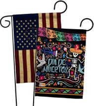 Colorful Dia de Muertos - Impressions Decorative USA Vintage - Applique Garden F - $30.97