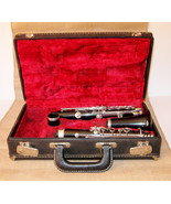 Black Leblanc Vito  Clarinet 9143H Original Black Hard Case Music Instru... - $179.99