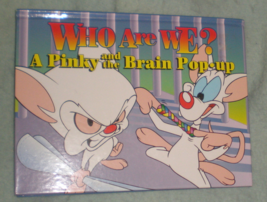 Pinky and the Brain Pop-Up Book Who Are We? Hardcover Warner Bros. - $8.99