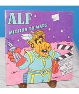 ALF MISSION TO MARS Robert Loren Fleming ILLUSTRATED Ken Kimmelman 1987 ... - $12.38