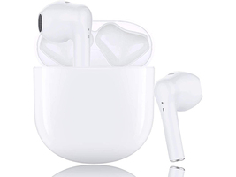 Wireless Earbuds Bluetooth 5.0 Integrated Microphone, IPX5 Waterproof