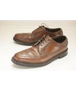 Florsheim Imperial 97625 Size 9.5 D Brown Vcleat Men's - $98.00