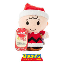 Holiday Peanuts Charlie Brown Hallmark itty bitty bittys Christmas LE Sn... - £9.61 GBP